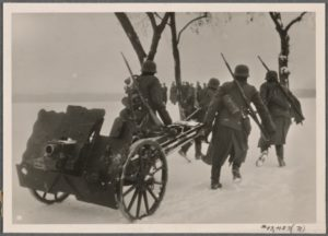 German Wehrmacht on the move in Poland