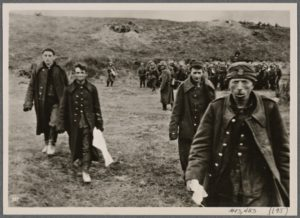 Polish soldiers surrender to Hitler's Germany